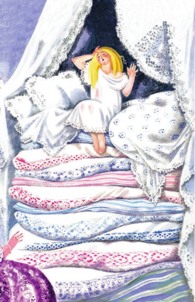 Ганс христиан андерсон сказки принцесса на горошине